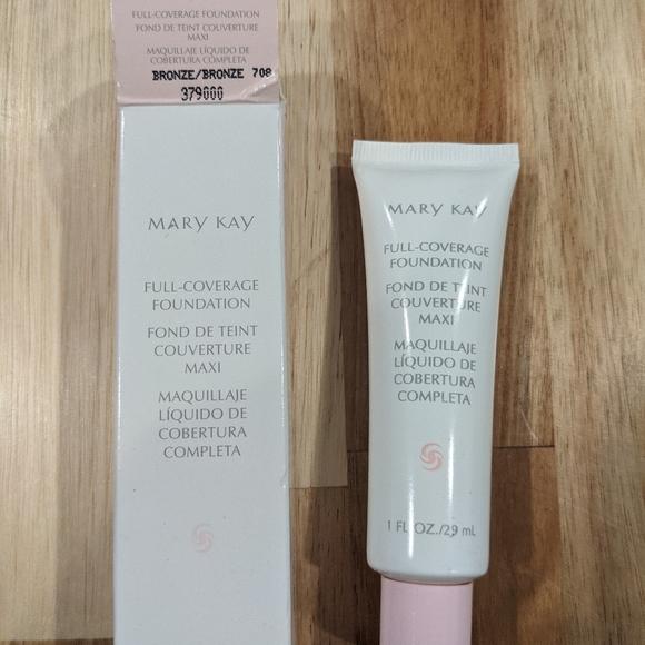 Mary Kay Full Coverage Foundation Bronze